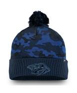 NASHVILLE PREDATORS NHL HOCKEY Men's Knit Cap Camo Pom Beanie Winter Hat... - $14.84