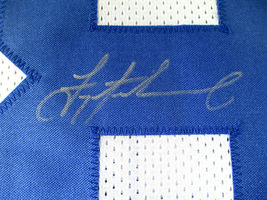 TROY AIKMAN / AUTOGRAPHED DALLAS COWBOYS CUSTOM FOOTBALL JERSEY / PLAYER HOLO image 4