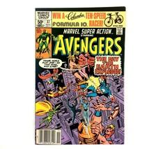 Marvel Super Action #37 1981 Marvel Comics Scarlet Witch Avengers Black ... - $4.90