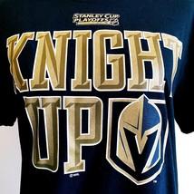 NWT New NHL Las Vegas Golden Knights 2019 Playoffs Knight Up T-Shirt Medium - $22.49