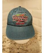 Interstate Batteries Denim adjustable Cap Hat Bobby Labonte Racing - $9.49