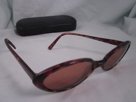 GUESS Rx Sunglasses Brown Oval GU724 105-1 Plastic Eyeglass Frames Torto... - $19.35