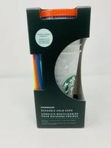 Starbucks Color Change Confetti Reusable Cold Cups 24 oz 5/pk BRAND NEW ... - $44.55