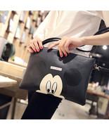 Women Hello Kitty Messenger Bag Minnie Mickey Bag Leather Handbags - $16.99
