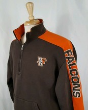 Champion Bowling Green Falcons Sweatshirt XL 1/4 Zip Pullover Embroidered NCAA - $24.00