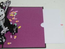 Lovepop LP1593 Halloween Bear Pop Up Card White Envelope Cellophane Wrap image 4