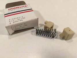 (1) Genuine Homelite A-95689-A Slide & Spring Kit New Old Stock OEM A95689A - $5.99
