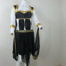 Cleopatra Pharaoh Egyptian Goddess Costume Womens Large Halloween Vtg Ma... - £45.64 GBP
