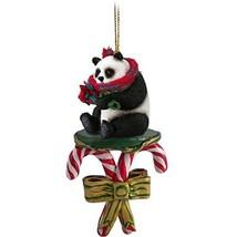 Conversation Concepts Panda Candy Cane Ornament - $13.99