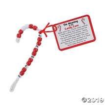 Meaning of the Candy Cane Religious Ornament Craft Kit - $14.50