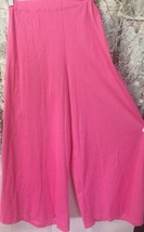 California Costumes Womens Sz PS Pink Pants 70s Flares Gauchos Hippie Da... - $5.00