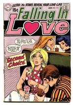 Falling In Love #112 1969 Dc Romance Comic Book - $37.83