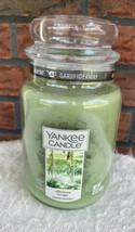 Yankee Candle Garden Hideaway 22 Oz Large Glass Jar Afternoon Escape New... - $34.30