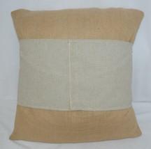 Kate Winston Pillow Burlap Cover Plus Home On The Range Wrap image 2