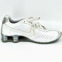 Nike Shox Classic II Women's White & Silver Running Sneaker Size 10 343907-111 image 6