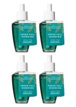 Bath & Body Works Fresh Fall Morning Wallflower Home Fragrance Refill Bulb x4 - $27.50