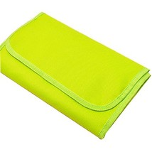 Green Travel Essential Portable Canvas Cosmetic Bag Multi-pouch image 2