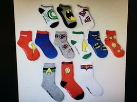 Justice League 12 Days of Socks Boys Size Medium New - $23.99