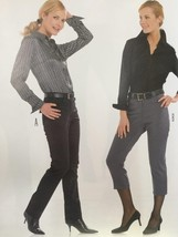 Burda Sewing Pattern 7863 Misses Ladies Pants Size 10-22 New - $13.43
