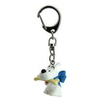 Snowy bust plastic key ring Moulinsart Tintin