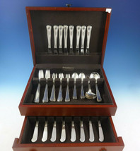 Old Danish by Cohr Sterling Silver Flatware Set For 8 Service 48 Pieces - $4,350.00