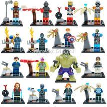 16pcs Superhero Avengers Age of Ultron Hulk Quicksilver Vision Iron Minifigures - $24.99