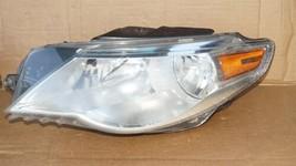 09-12 VW Volkswagen CC Halogen Headlight Head Lights Matching Set L&R image 2