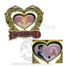 Disney Enchanted Giselle Spinner Amy Adams and Patrick Duffy Dancing pin - $18.95