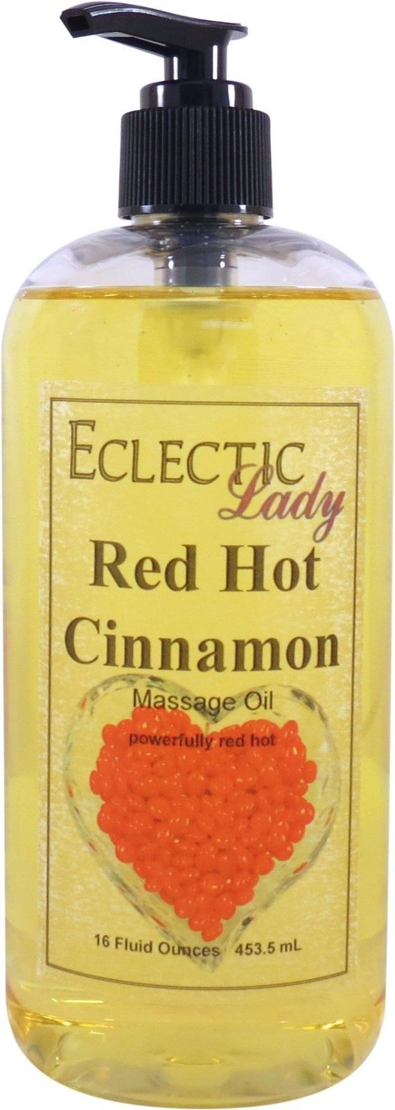Red Hot Cinnamon Massage Oil