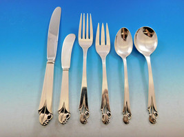 Woodlily by Frank Smith Sterling Silver Flatware Set for 12 Service 77 pieces - $4,650.00