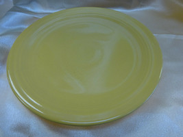 "Vintage FIESTA Homer Laughlin Harlequin 7.5"" Yellow Salad PLATE 1950's - $7.95"