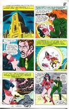 Original 1970's DC Comics JLA Super Team 14 color guide art page 8:Star ... - $99.50
