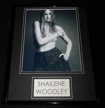 Shailene Woodley 11x14 Framed Topless Photo Display - $32.36