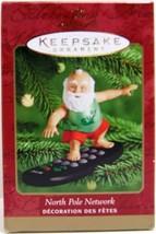 Hallmark Keepsake Ornament North Pole Network 2000 - $14.99