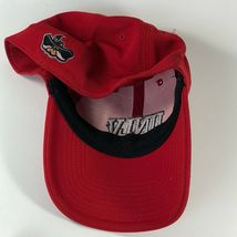 UNLV Rebels University Of Las Vegas 90s Hat Cap Fitted One Size Men Red Stretch image 9