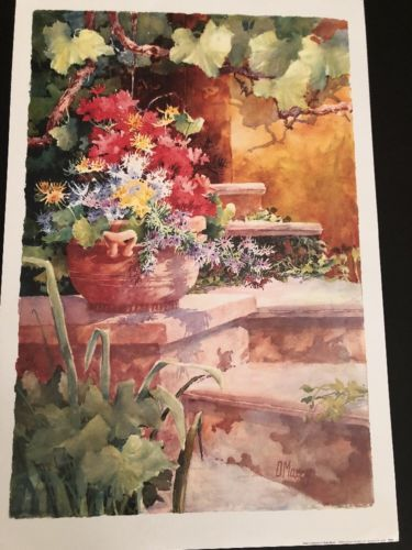 Diane Maxey: Steps Of Provence (2002) / Haddad's Fine Art Poster