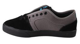 Osiris Black/Cyan Men's Decay Skateboarding Shoes image 4