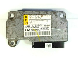 2007 Chevrolet HHR SRS Module 25783634SL 5WY77084 with VIN OEM Computer Chevy - $42.95