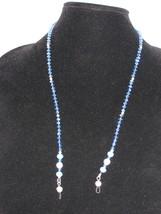 NEW Handmade Lt. Blue Swarovski Crystal Eyeglas... - $20.00