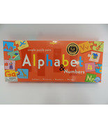 Alphabet and Number Puzzle by eeBoo 2004 - $9.85