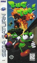Bug Too Sega Saturn Great Condition Fast Shipping - $39.93