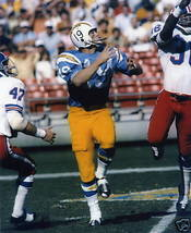 Lance Alworth San Diego Chargers Vintage 8X10 Color Football Memorabilia Photo - $6.99