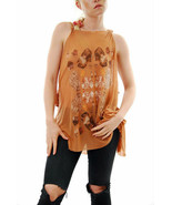 Wildfox Ladies Couture Sweetheart Ruined Tank Sleevless Cork Size S - $41.34