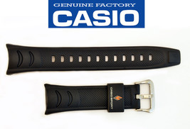 Genuine CASIO PRO TREK PRW-200J PRS-500 WATCH BAND  BLACK STRAP PRS500  ... - $22.45