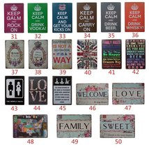 Metal Pub Wall Tavern Chic Shabby Decor Chic Home Bar Vintage Sign Tin P... - $28.00+