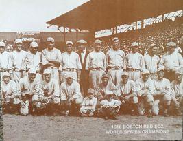 1918 World Series Team WB Red Sox Vintage 11X14 Sepia Baseball Memorabil... - $9.95