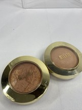 (2) Milani 09 Dolce & 05 Soleil Baked Bronzer Powder Face Eyes Body - $11.39