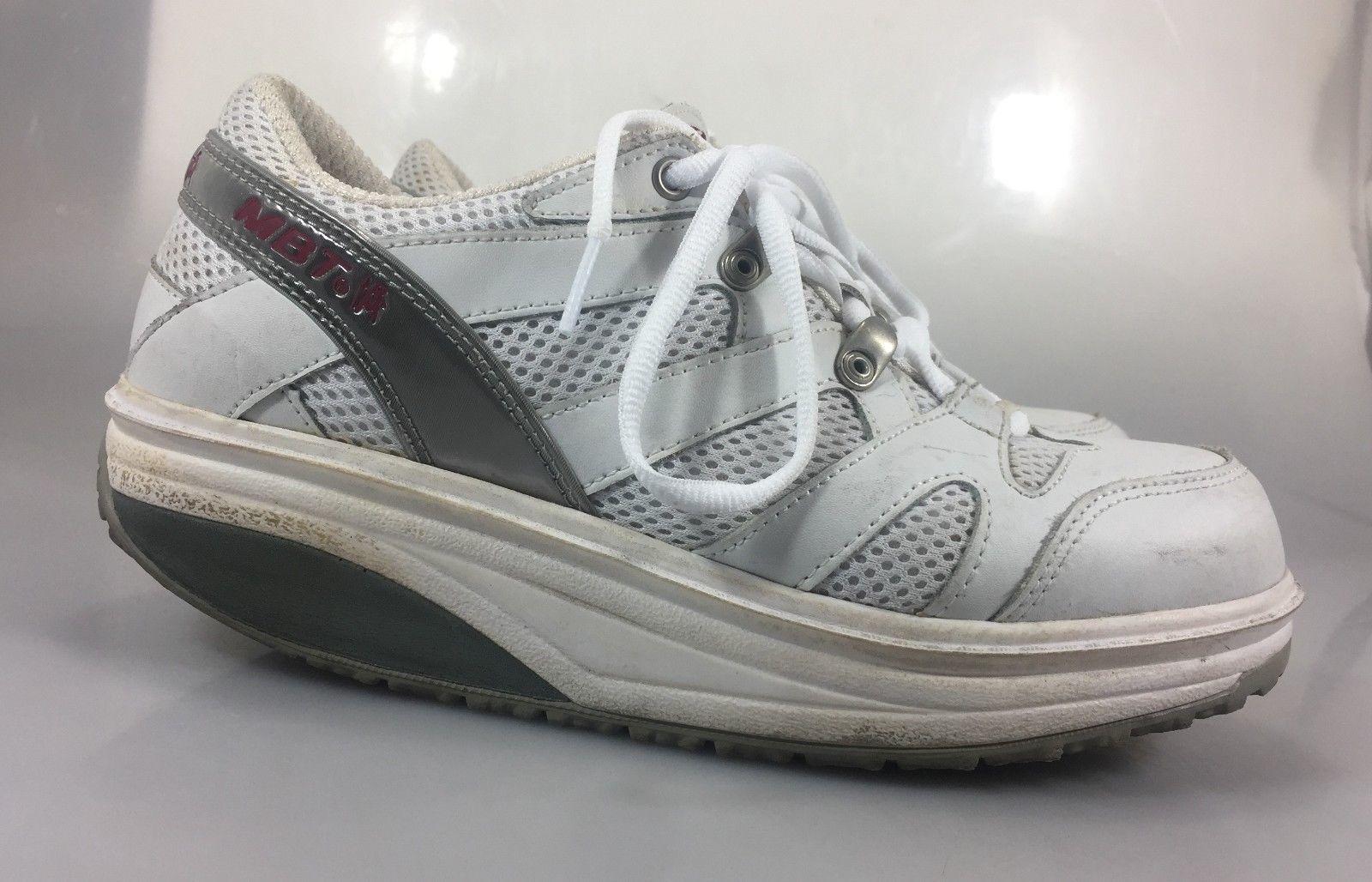 ... MBT Sport Walking Shoe Women 7.5 Men 5.5 White 37 2/3 EU White ...