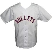 San Antonio Bullets Retro Baseball Jersey 1965 Button Down White Any Size image 1