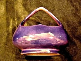 Czechoslovakia Ceramic Basket Decor AA18-1368-J Vintage image 2